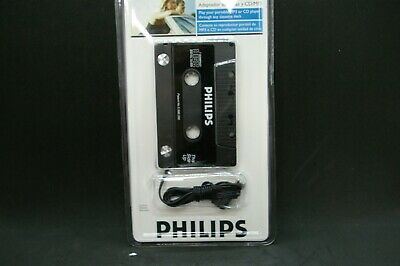Philips MP3/CD Cassette Adapter PH2050W New Sealed