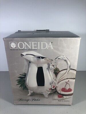 Oneida Silverplate Beverage Pitcher Made In America!