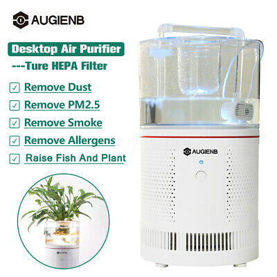 AUGIENB HEPA Air Purifier Ioniser Allergen Odor Dust Remover Home Air Cleaner AU