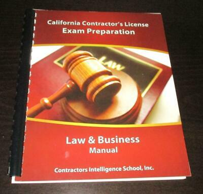 CALIFORNIA CONTRACTORS STATE License Home Study Guide B