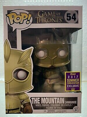 Funko Pop Game Of Thrones The Mountain Shared Conventions Exclusive #54