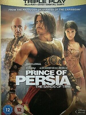 PRINCE OF PERSIA The Sands of Time- BLURAY + DVD Steelbook 2010 AS NEW!