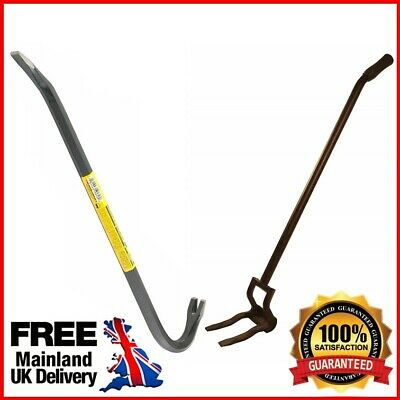 Demolition Lifting Bar Heavy Duty Crowbar Construction Hand Tools Wrecking Lift