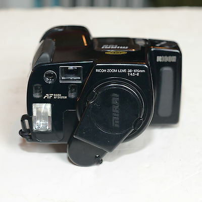 Ricoh 35mm Vintage Film Camera MIRAI 105 Zoom, Working 1336