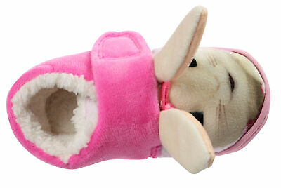 Peter Rabbit Lily Bobtail Girls Soft Pink Low Top Slippers UK Sizes Child 5-10