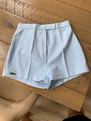 Vintage Lacoste Shorts Brand New Old Stock Blue.  Size 36.