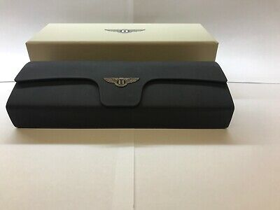 Bentley Eyeglasses/Sunglasses Black  Case with cleaning cloth