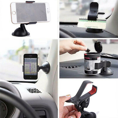 360° Universal Car Windscreen Dashboard Holder Mount For GPS PDA Mobile Phone ZX