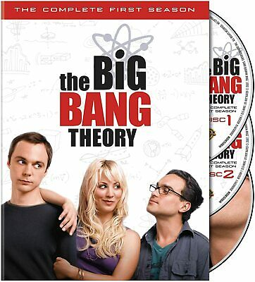 The Big Bang Theory - The Complete First Season DVD Free Shipping In Canada