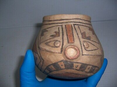 Pre-Columbian Casas Grandes Pottery Fish Effigy Pot Jar Vessel Artifact