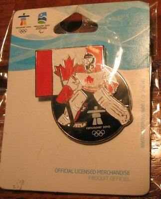 Hockey Player Canada #1575 VANCOUVER 2010 OLYMPIC PIN NEW