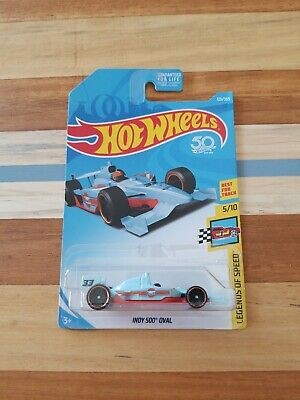 Hot Wheels 2018 HW Legends Of Speed Gulf  Oil Indy 500 Oval Race car Racing new