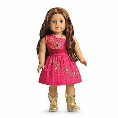 American Girl 2013 Saige Copeland Sparkle Dress Set Only NO DOLL Brand New NRFB