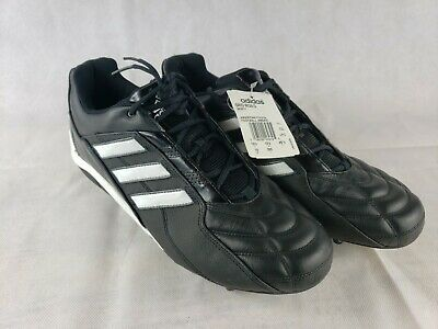 Adidas Grid Iron D Mens Football Cleats Shoes Size 12 Black 383371  NEW