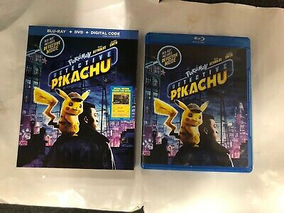 Pokemon : Detective Pikachu Bluray 1 Disc Set ( No Digital HD)