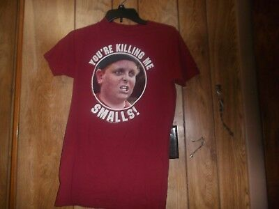 THE SANDLOT T-SHIRT Ham You're Killing Me Smalls Graphic Tee Red