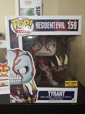 Funko Pop Resident Evil Tyrant #159 Hot Topic Exclusive