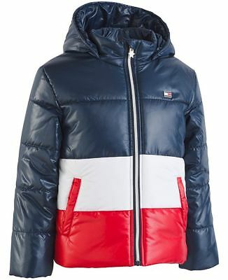 77dad41d2 GIRL'S TOMMY HILFIGER puffer jacket winter coat pink (guava) size 6 ...