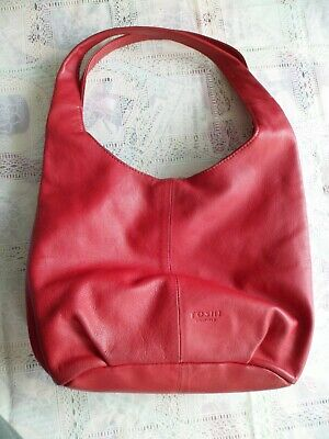 b643cce13c3 YOSHI GRAB HANDLE/SHOULDER bag red zip opening plenty of pockets ...