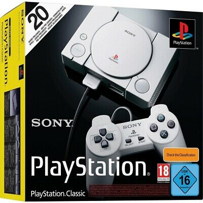 Sony Playstation PS1 Classic incl. 2 Controllern Retro Konsole NEU&OVP