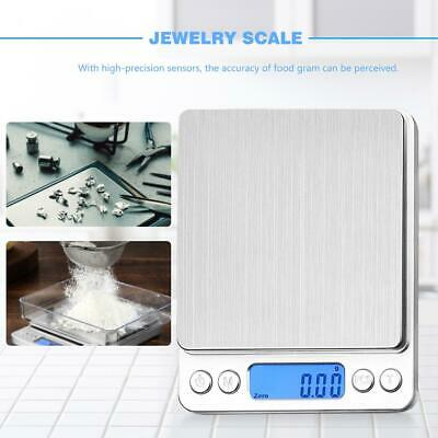 Multifunctional LCD Electronic Digital Scale 0.01G~500G Jewelry Weight Scales