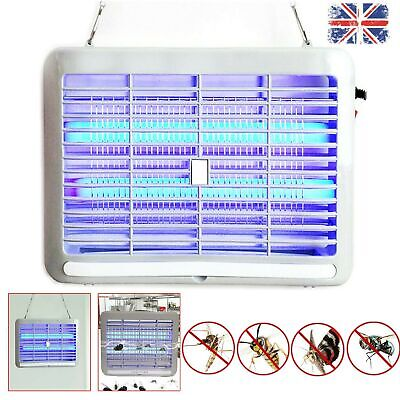 Electric UV LED Lamp For Insect Killer Mosquito Fly Pest Bug Zapper Catcher Trap