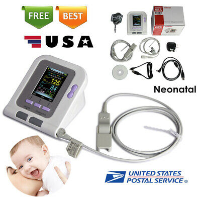 Neonate/Infant Blood Pressure Monitor CONTEC08A+SPO2 PR+PC Software+6-11cm cuff