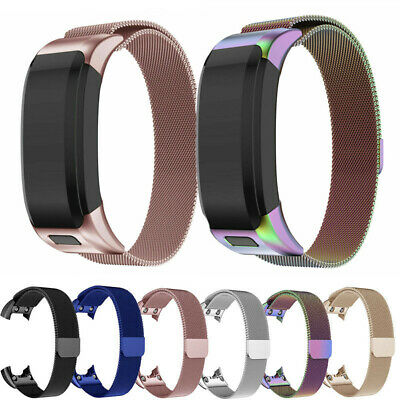AU For Garmin Vivosmart HR Strap Replacement Milanese Band Metal Stainless Steel