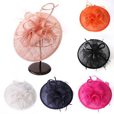 Fascinator Lily Hat Clip Headband Hatinator Weddings Races Royal Ascot Aliceband