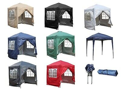 FoxHunter Pop Up Gazebo 2X2M Waterproof Marquee Garden Awning Party Tent Canopy