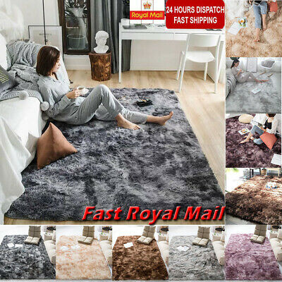 Shaggy Rugs Floor Carpet Area Soft Large Rug Home Mat Living Dining Room Bedroom