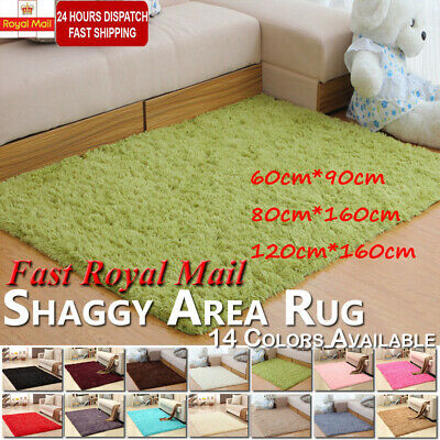 Shaggy Rugs Carpet Living Room Bedroom Area Rug Soft Fluffy Large Rugs Home Mat