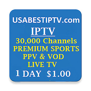 TRIAL IPTV 1 DAY SUBSCRIPTIONS 8000+ Live TV Channels, VOD, Sports PPV - VOD