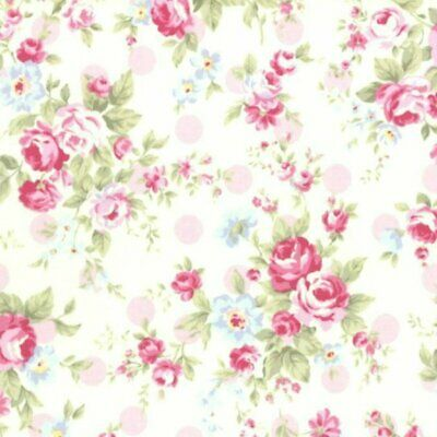 Remarkable Cottage Shabby Chic Lecien Princess Rose Small Roses Fabric Download Free Architecture Designs Boapuretrmadebymaigaardcom