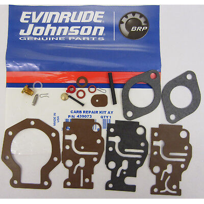 Johnson / Evinrude Vergaser Repair Rebuild Kit 439073, 0439073