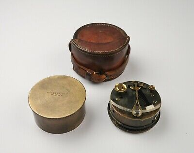 Pocket sextant, Troughton & Simms and Dry Card Yacht Compass – Bradford, London