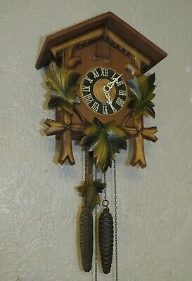 A Good Quality German Made Cuckoo Clock ,* Fully Working And Serviced *