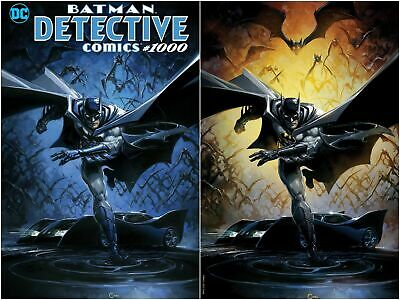 Detective Comics 1000 Crain Virgin Trade Variant Set Batman