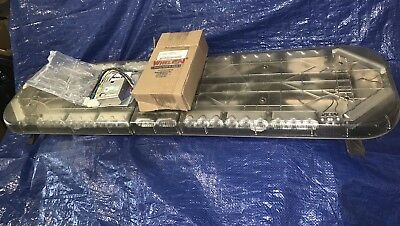 Whelen Justice Jv Super All Led Lightbar Lin9 Con3 Ltr3 Lr-11 + New Wecan Module