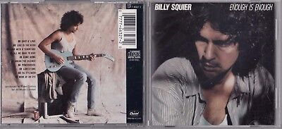 Billy Squier - Enough Is Enough (CD, Capitol/EMI Records) DADC EARLY PRESS