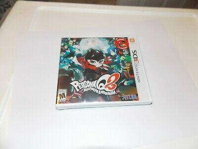 Persona Q2 New Cinema Labyrinth     Nintendo 3Ds    Brand New