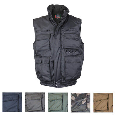 Maximos Men's FV-126 Multi Pocket Tactical Military Fishing Vest