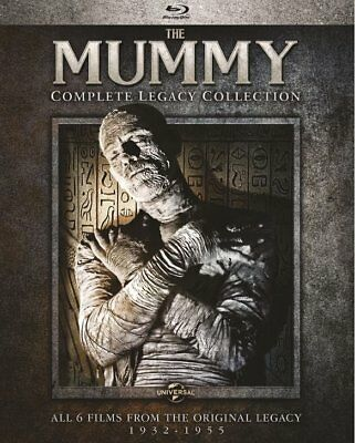 The Mummy:Complete Legacy Collection (Blu-ray)  FREE SHIPPING WITH TRACKING!