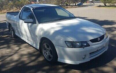 2004 HOLDEN COMMODORE VY S PACK SS LEATHER SEATS Ute