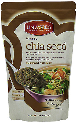 Linwoods Milled Chia Seed Pack of 3