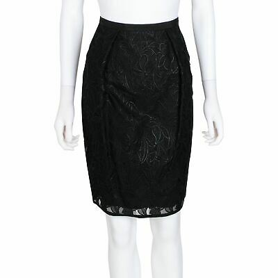 Stella McCartney Floral Embroidered Pencil Skirt