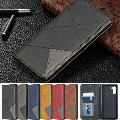 Wallet Case For Samsung Galaxy Note 10 Plus Leather Stand Card Slot Flip Cover