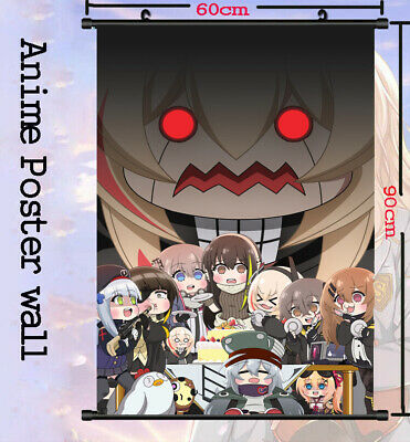 Girls Frontline Anime m16a1 Home Decor Poster Wall Scroll Collectible 60x90CM