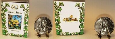 1:6 SCALE MINIATURE BOOK WINTER STORY BRAMBLY HEDGE PLAYSCALE BARBIE