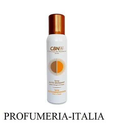 Cbn Autoabbronzante Viso E Corpo Spray 125Ml